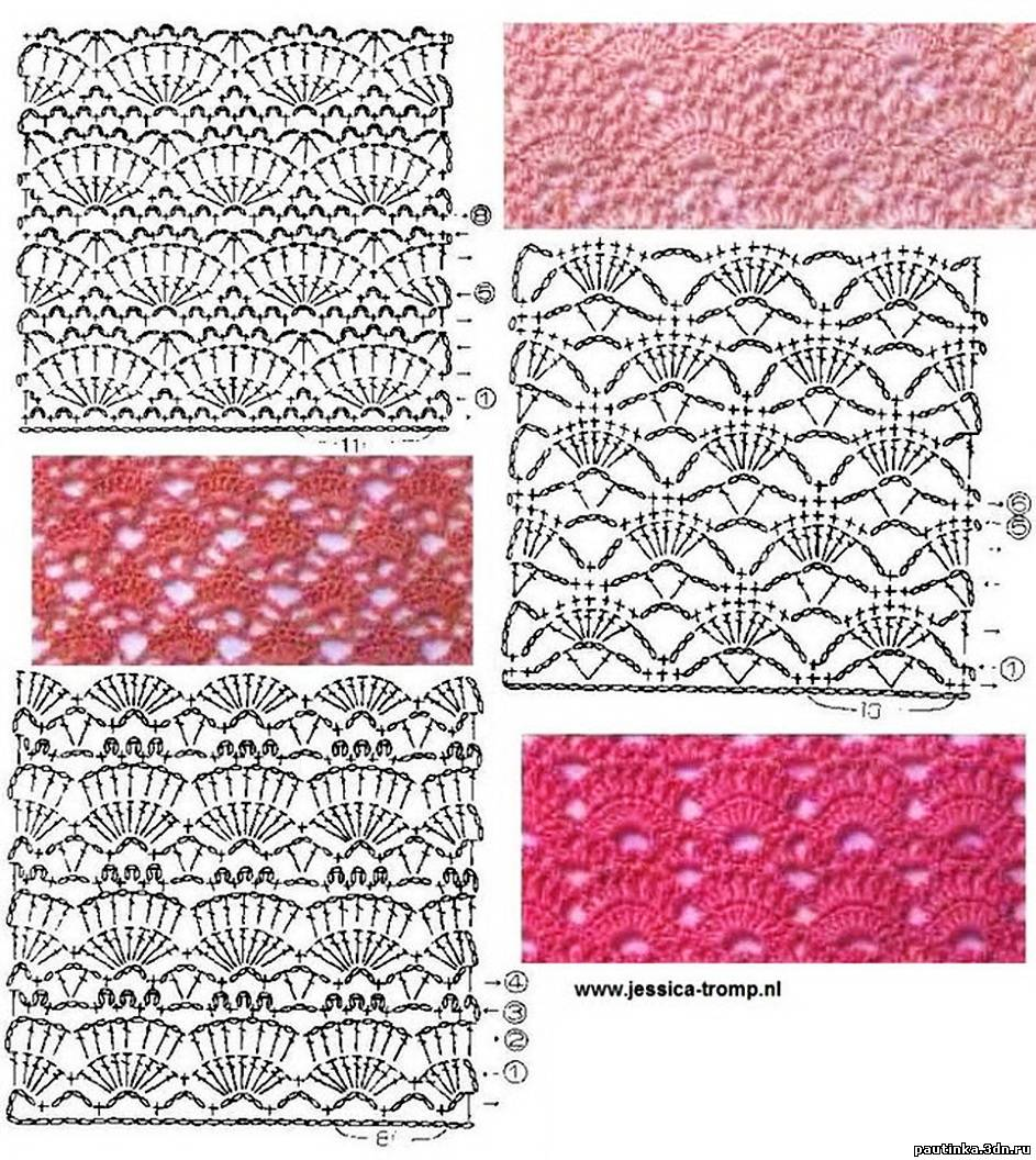 Crochet Patterns Stitches : ??????? ????? ???????. ????? ??????? ...