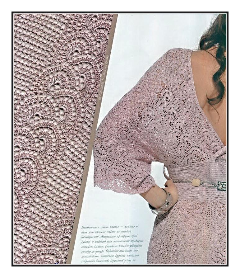 свой цитатник или сообщество!  Платье-кимоно. http://pautinka.3dn.ru/publ/skhemy...chkom/6-1-0-182.