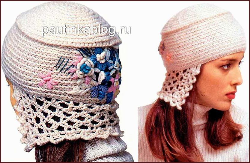 схемы вязания шапок и шарфов схемы для вязания уроки вязания