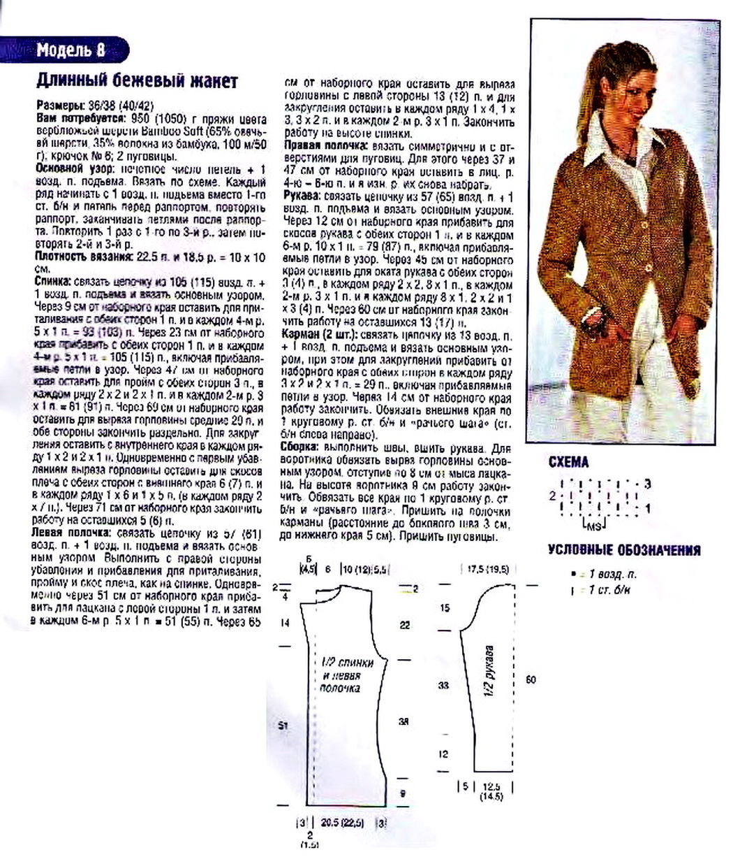 Вязание из шерсти схемы