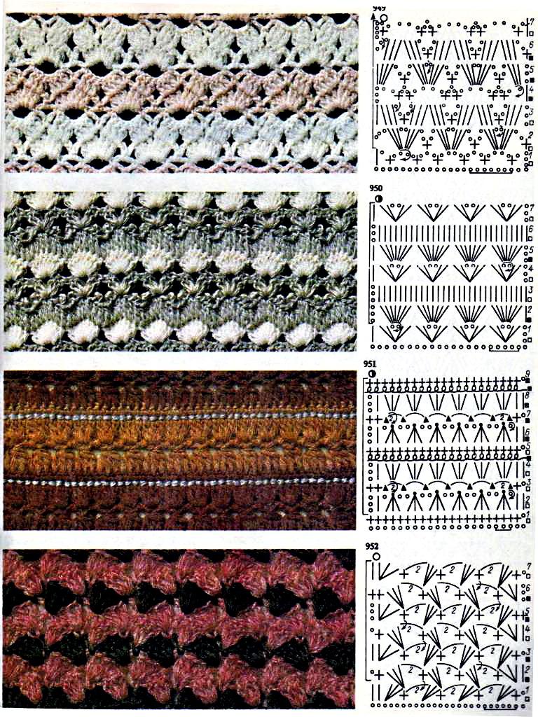 цветное вязание интарсия спицами схемы