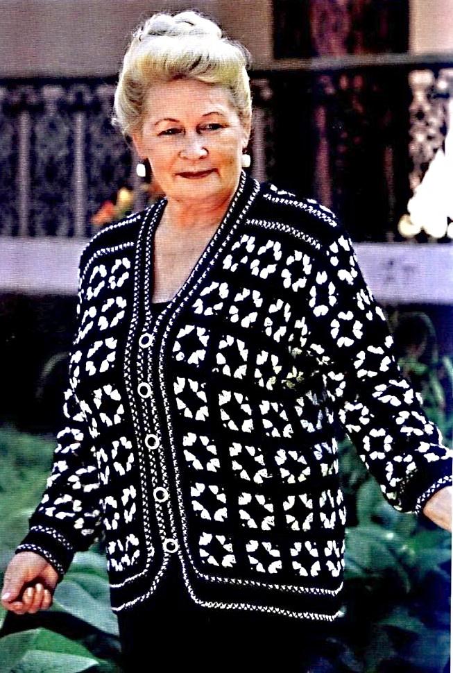 Вязание свитер большого размера