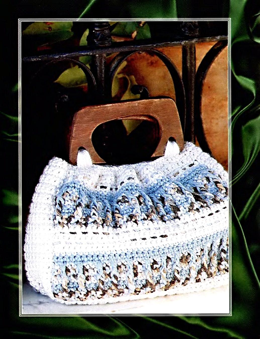 ...схемы, модели и узоры .  Вязание крючком сумок; Вяжем деткам.