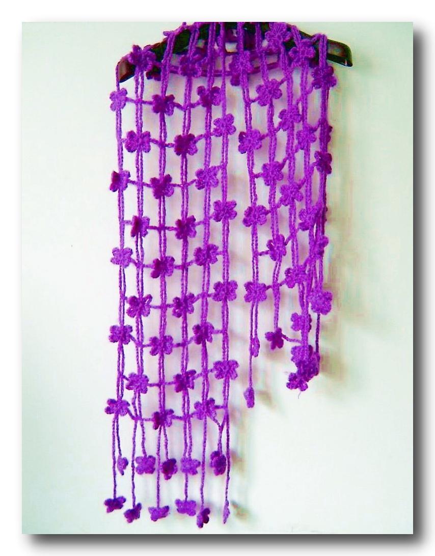 Вязание спицами ажурный шарф схемы