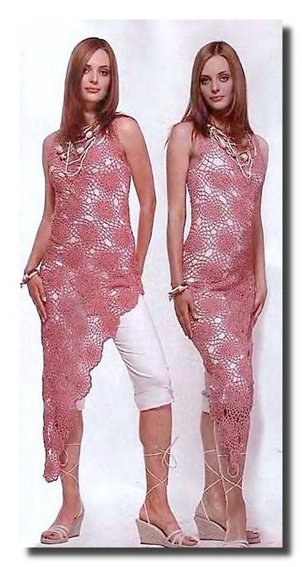 Интересная модель платья с