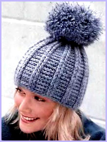 Зимние шапки вязаные своими руками со схемами