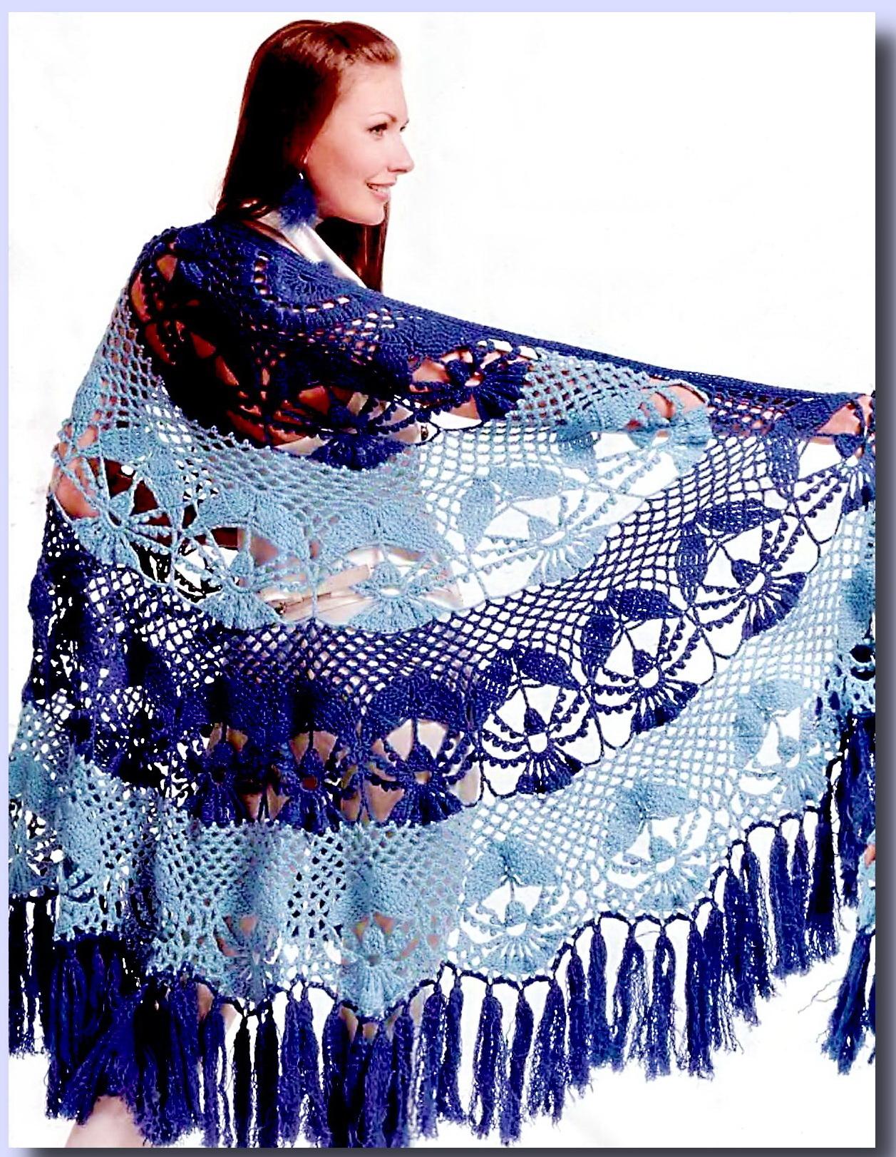 Схемы вязания крючком узоров для юбки