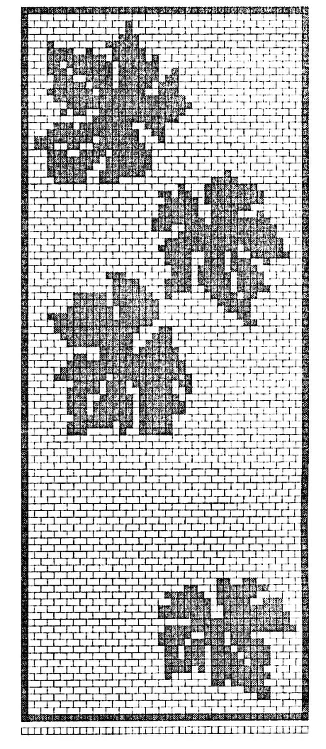 Филейное вязание картины 23