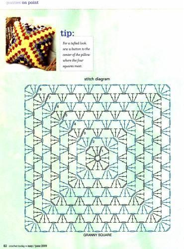 вязание крючком. салфетки скатерти подушки (36) (518x700, 171Kb) .