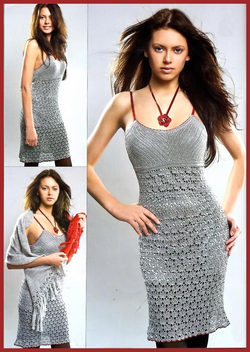 Вязаное вечернее платье | Zoya Woolwitch