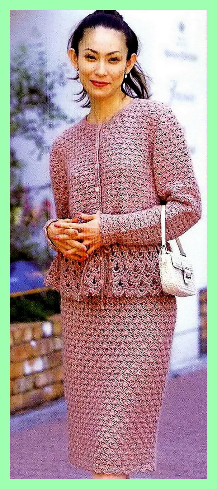 Вязание крючком. Схемы вязания 20
