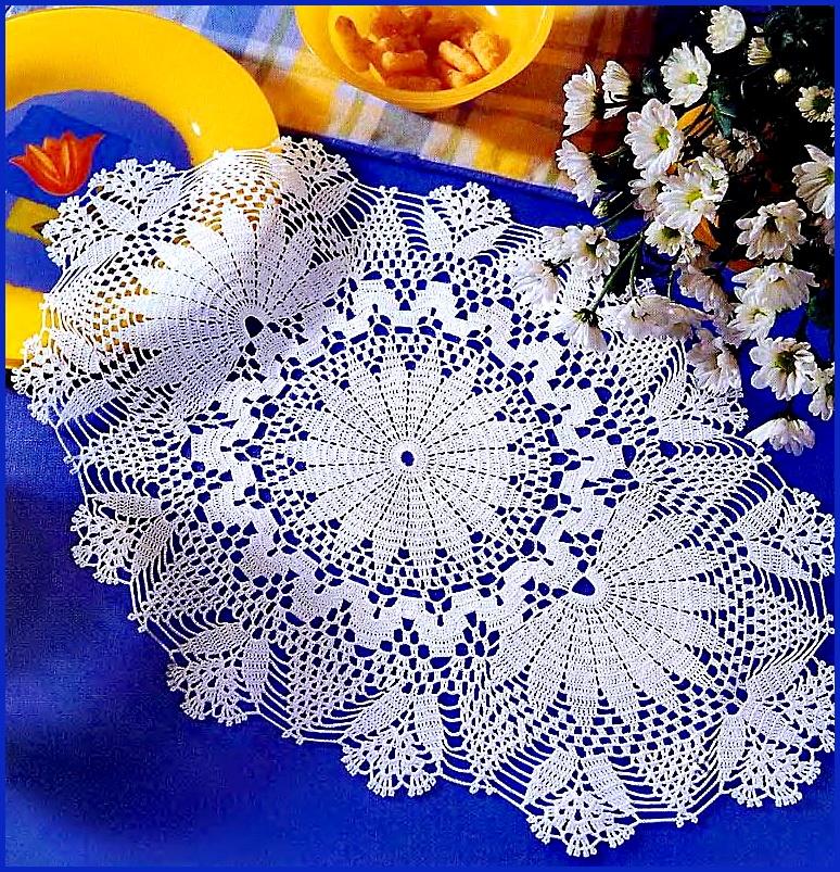 Вязаные салфетки и мелочи для дома. добавляйте к себе на стенку, что бы . вязание, вышивка (схемы).