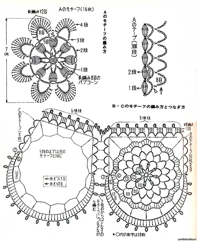 Занавески крючком: схемы вязания штор, подхваты, шторы для 98