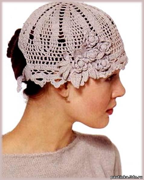 Схема вязания шапок бесплатно.
