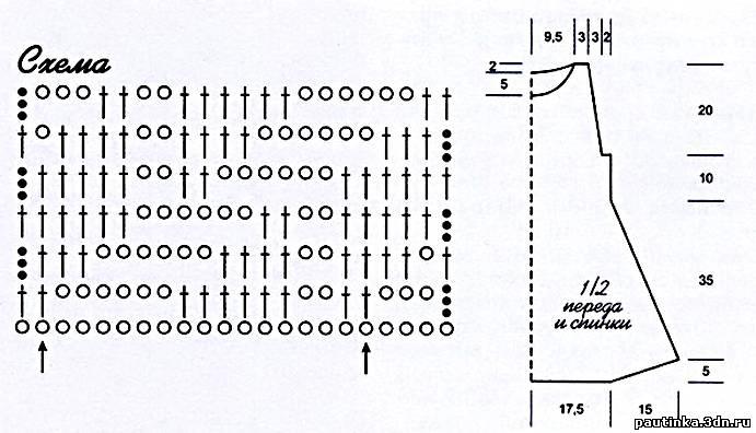 Вязание крючком по диагонали схемы пледы 20
