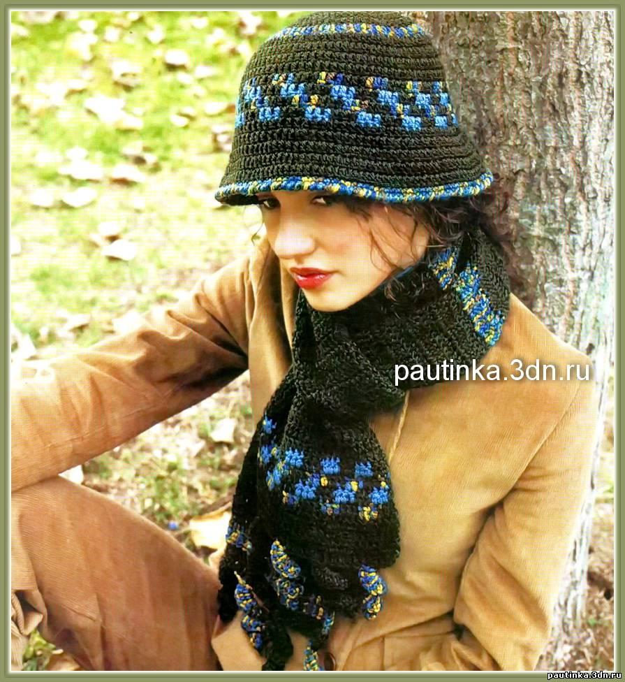 Вязание шляпок крючком на женщин схемы